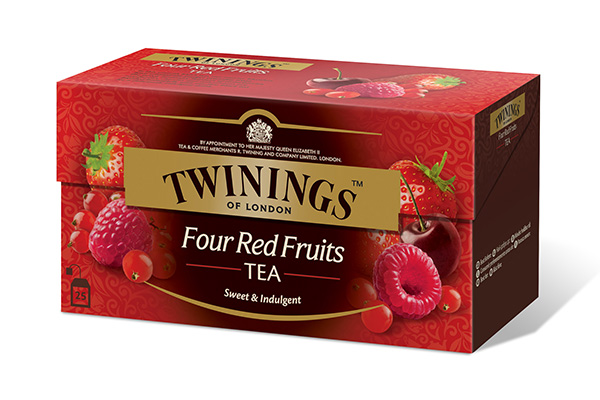Four Red Fruits 25x2g