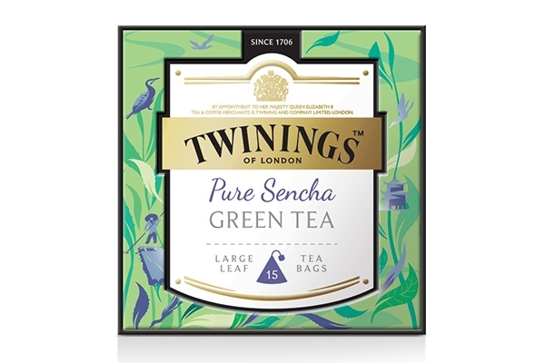 Pure Sencha Green Tea 15x2g