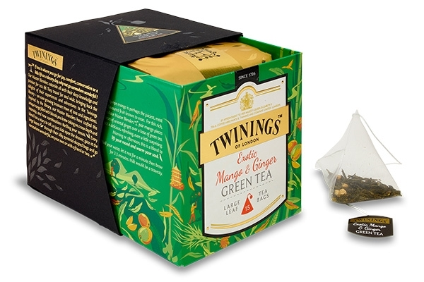 Mango & Ginger Green Tea 15x2g