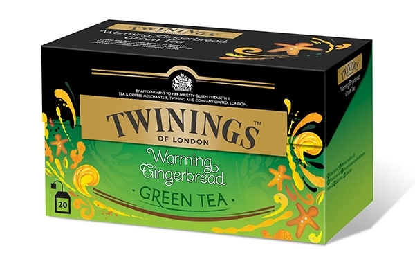 Warming Gingerbread Green Tea 20x2g