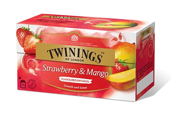 Infusions Strawberry & Mango 25x2g