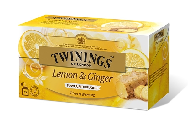 Infusions Lemon & Ginger 25x1,5g