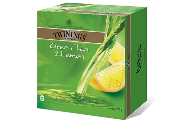 Twinings Green Tea Lemon 100x2g