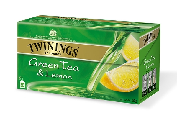 Green Tea Lemon 25x2g