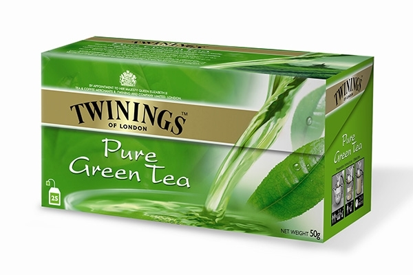 Pure Green Tea 25x2g