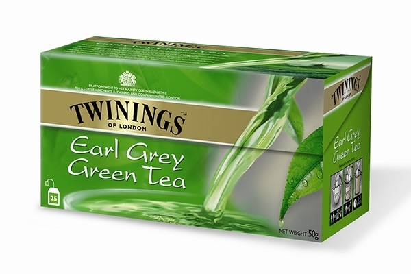 Green Tea Earl Grey 25x2g